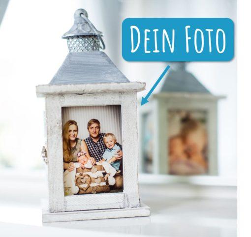 Schöner als Laternen mit Gravur - Die Fotolaterne mit Echtglasdruck!